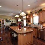 Maple Wood Stained Kitchen