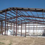 1 Office Warehouse Steel Frame