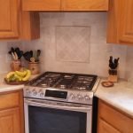 6 New Range Oven, Quartzite Counter And Tumbled Backsplash