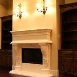 Cast Stone Fireplace Surround (2)