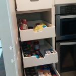 Pantry Pull Out Shelves Kitchen Remodel