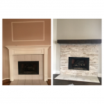 Before And After Fireplace Remodel